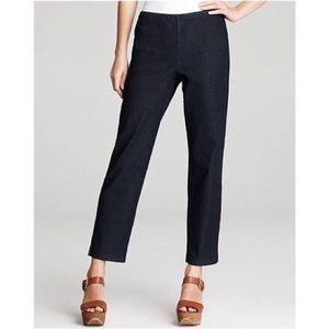 Eileen Fisher Side Zipper Crop Jeans M